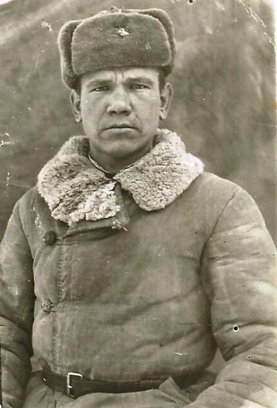 Гвардии сержант Кузьминых, 1944 год